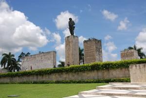 Conjunto escultórico Che Guevara, na Praça da Revolução.