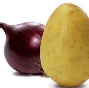 Cebola e batata crua estão entre os alimentos não recomendados.