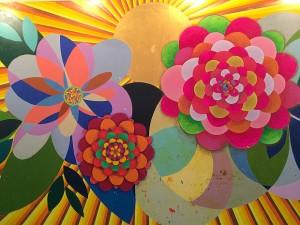 Obra de Beatriz Milhazes vendida por 16 milhões.