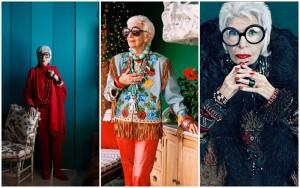 Iris Apfel, ícone fashion aos 94 anos (Foto: Reprodução)