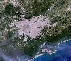 Mancha urbana da Região Metropolitana de São Paulo