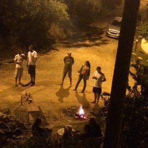Noite de fogueira