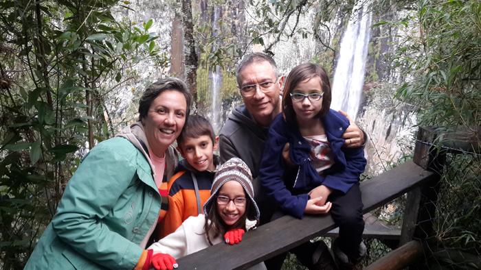 Nanna e família